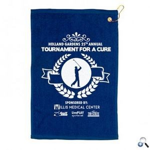 "On Par 15"" x 18"" Golf Towel"