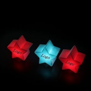 Outdoor Lighting Table Lamp LED Five-Pointed Star Light