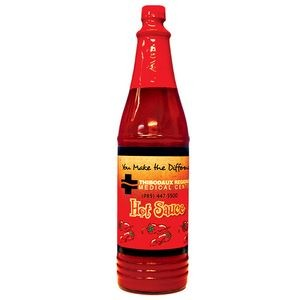 Red Hot Sauce with Full Color Custom Label - 6 Oz.